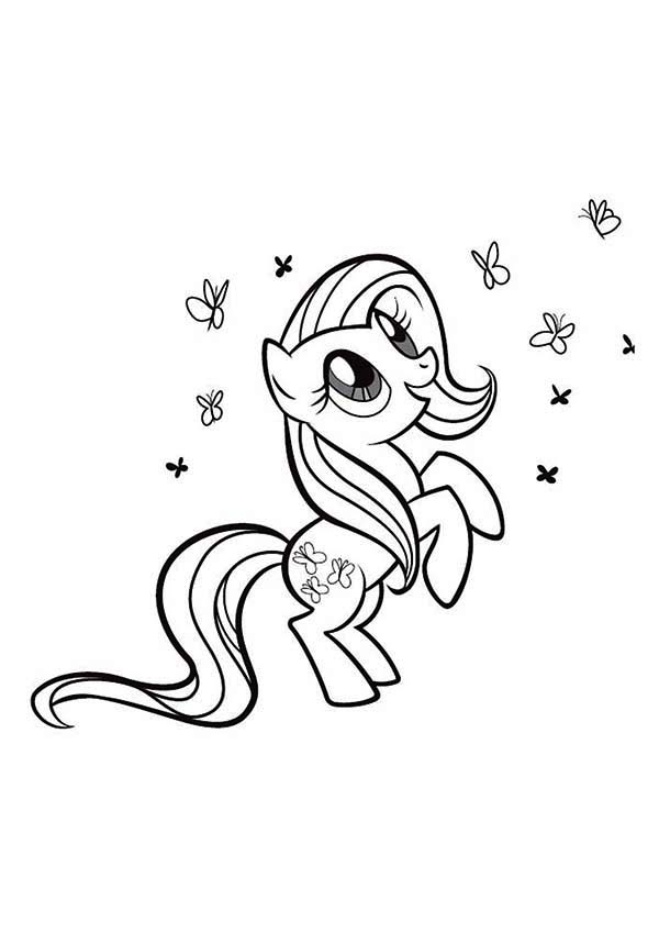 Rarity Playing With So Many Butterfly In My Little Pony Coloring Page Download Print Online Co My Little Pony Coloring My Little Pony Tattoo My Little Pony