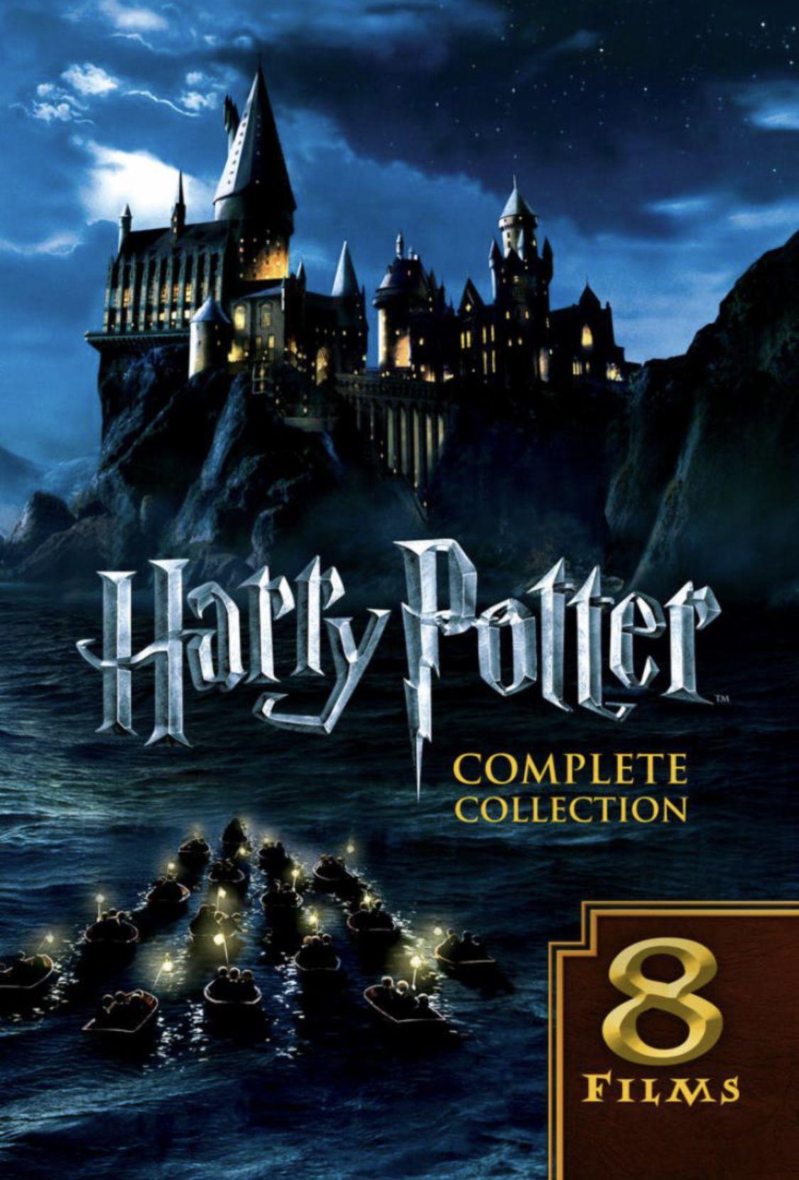 All 8 Harry Potter Films 58 Off 49 99 Harry Potter Dvd