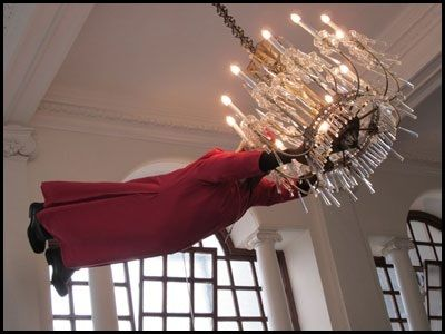 Swinging From The Chandeliers On A Chandelier