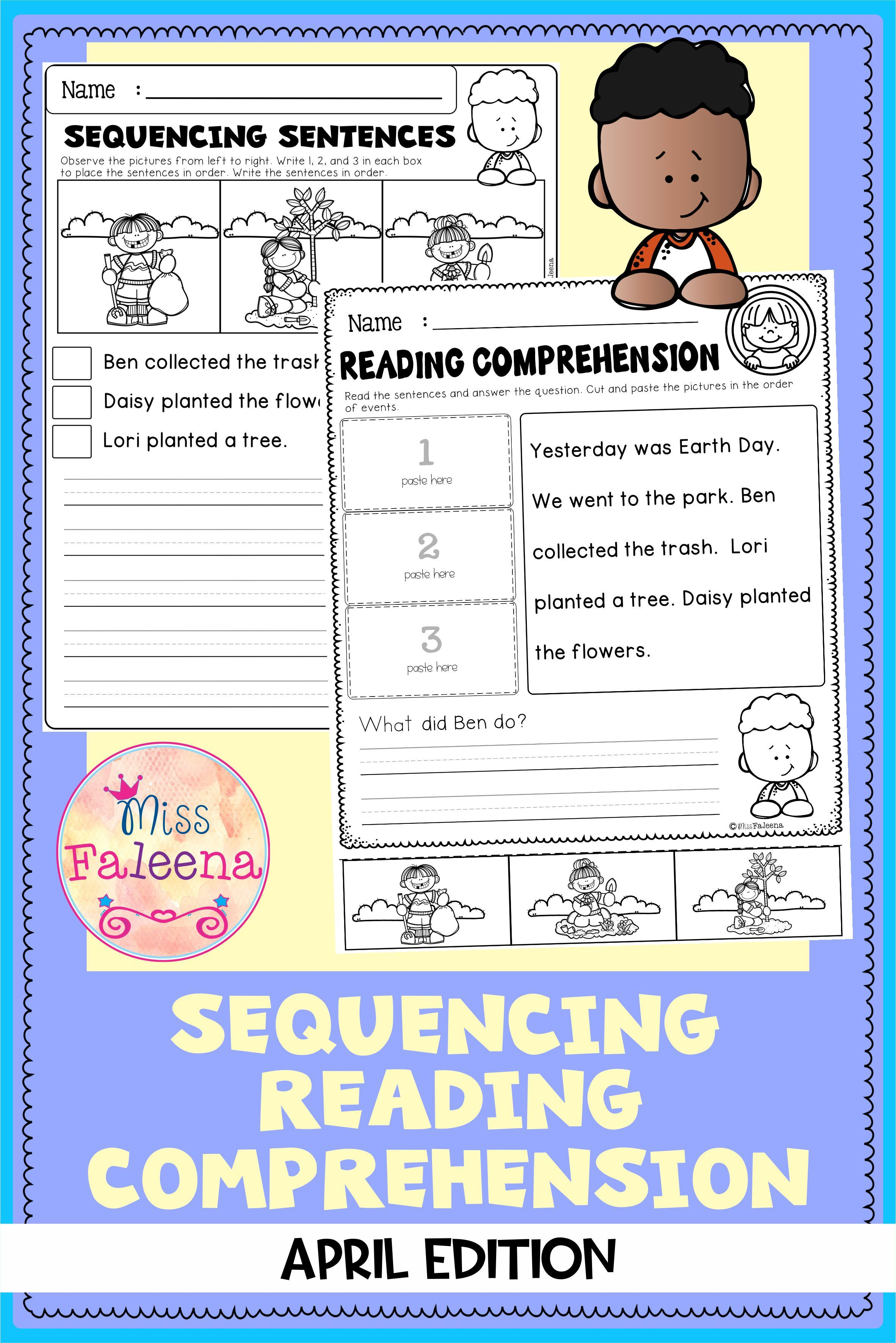 April Sequencing Reading Comprehension In 2021 Reading Comprehension Comprehension Reading Comprehension Worksheets [ 3544 x 2364 Pixel ]