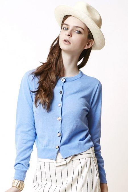 BONICA DOT (Bonika dot) ★ Iloilo button cardigan [101 431 413] ★ ViVi official fashion mail   NET ViVi CC