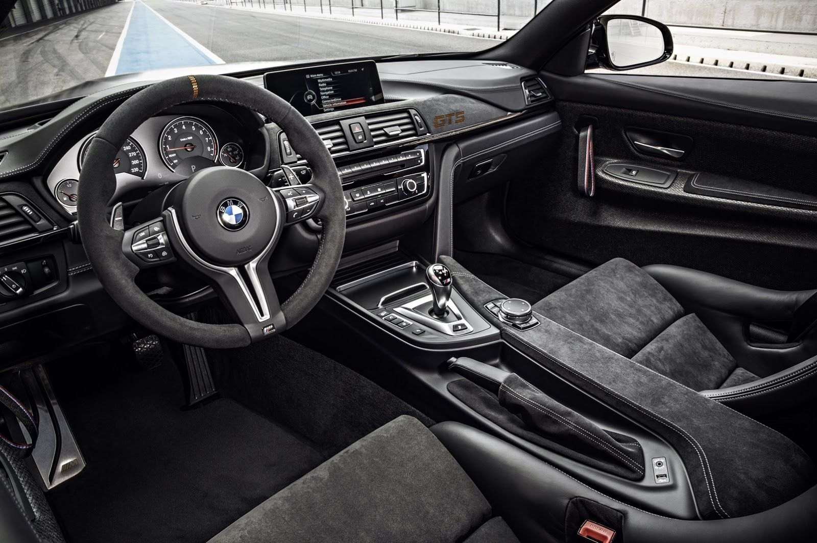 2016 Bmw M4 Gts Concept And Performance Interior View