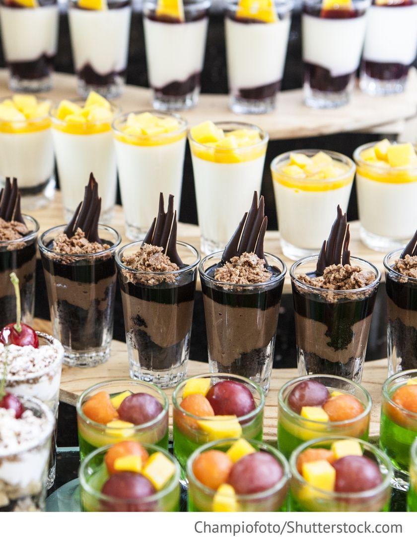 Dessert Am Hochzeitsbuffet Fur Hochzeit Hochzeit Buffet Hochzeitsbuffet Essen