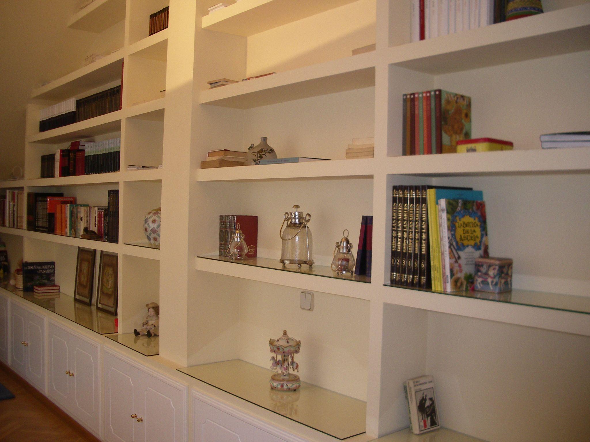 Muebles de Pladur  Estantes  Pinterest