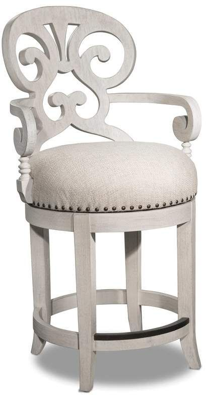 Surprising Hooker Furniture Jacobi 24 Swivel Bar Stool In 2019 Caraccident5 Cool Chair Designs And Ideas Caraccident5Info