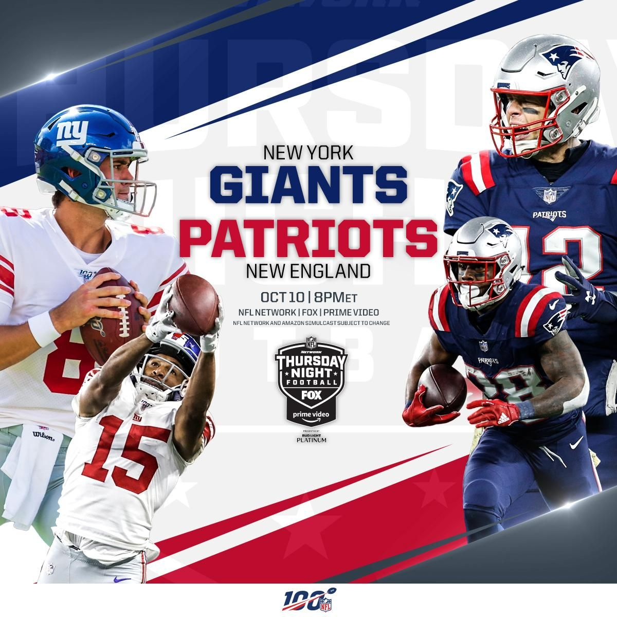 "[Official/^Stream] ""giants vs patriots"" LiVe StreaMs"