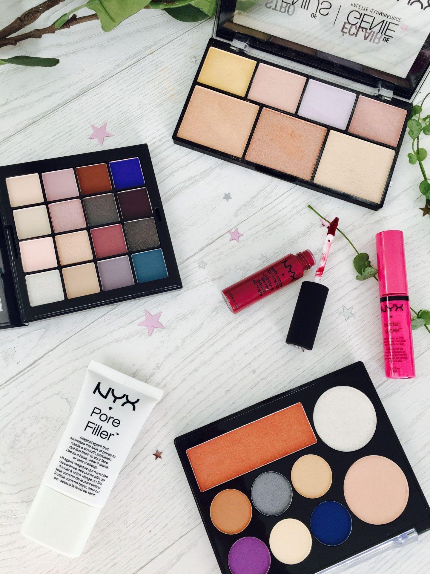 NYX Cosmetics Haul with Debenhams Nyx cosmetics, Nyx