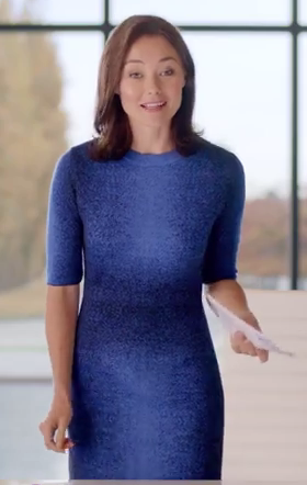 Gorgeous blue dress spotted in a Ford commercial on YouTube ... f37934502