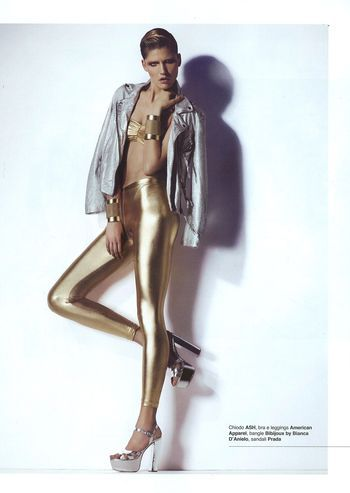 gold - 'Shine Bright' Katja Stajnbauer by Anna Montesi for Kult 1