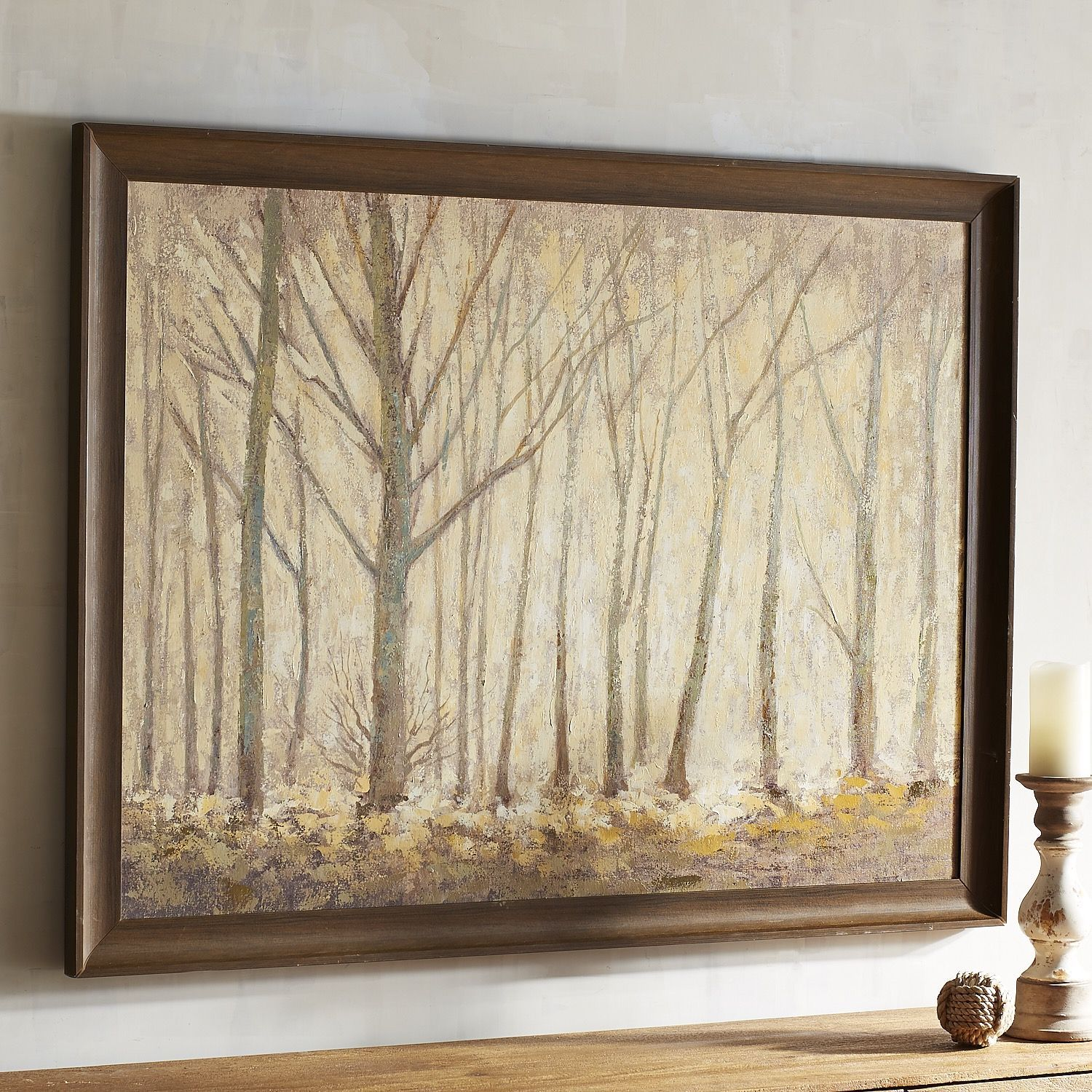 Framed Trees Art Natural