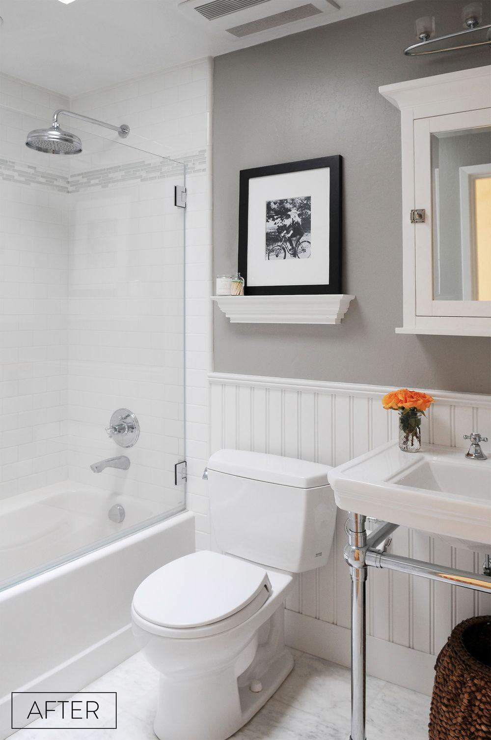 Bathroom Remodel Small Bathroom Bathrooms Remodel Bathroom Makeover