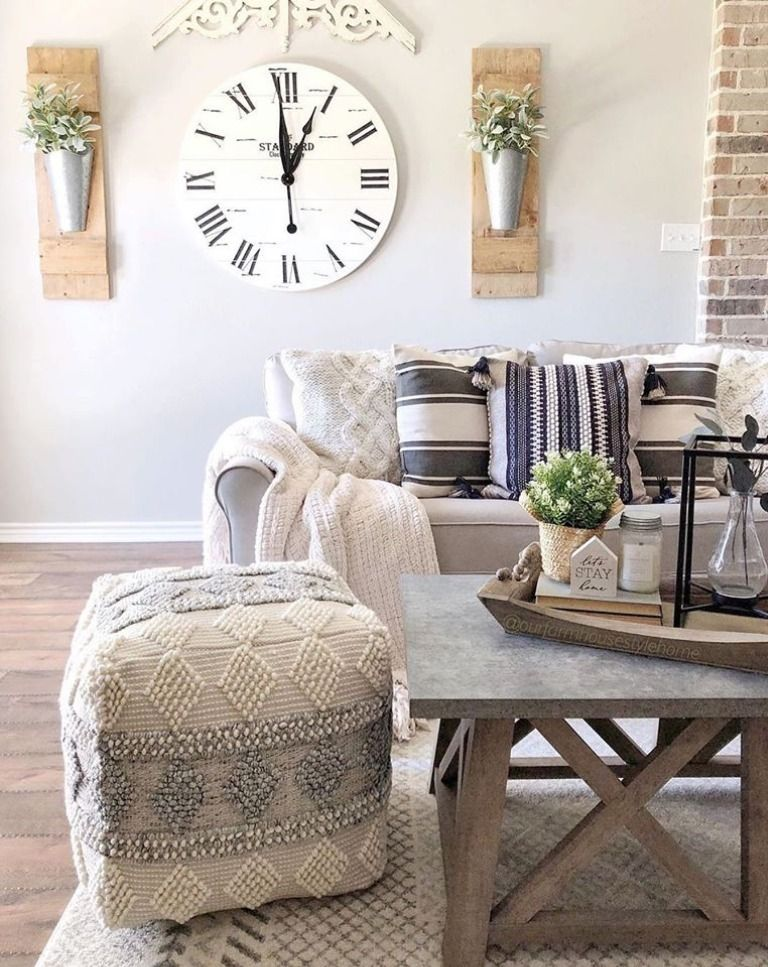 Cozy and elegant, we're loving this room styled by @ourfarmhousestylehome! Featuring our Burdette Area rug with our Drumnadrochit pouf she isn't afraid to mix patterns, and the result is gorgeous! 💯  . . . . . . #boutiquerugs #arearug #modernrugs #farmhousedecor #farmhousestyle #moderndecor #modernstyle #styleyourspace #rugsofinstagram #designerrug #rugs #handmaderugs #homedesign #interiorstyle #modernhome #ourhome#farmhousefamily #farmhouse #livingroomdesign #pouf #patterns