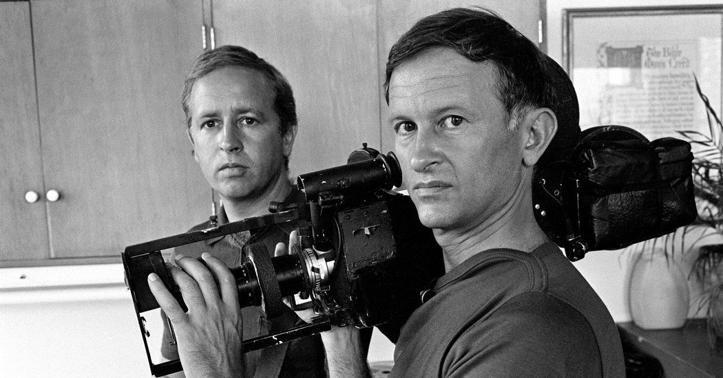 "Mr. Maysles and his brother, David, made notable films like ""Gimme Shelter"" and ""Grey Gardens,"" and received a National Medal of Arts in July."