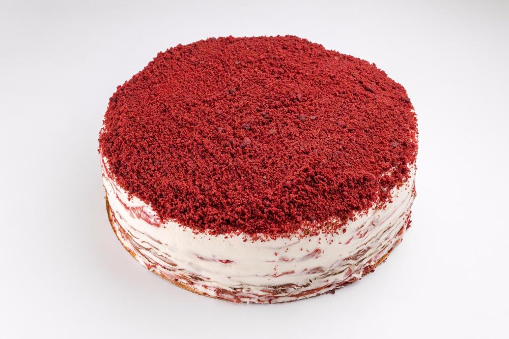 Картинка красный торт