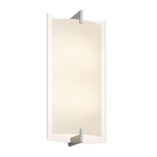 Double Arc Polished Chrome Led 11 Inch Tall Wall Sconce Sconces Wall Sconce Lighting Wall Sconces