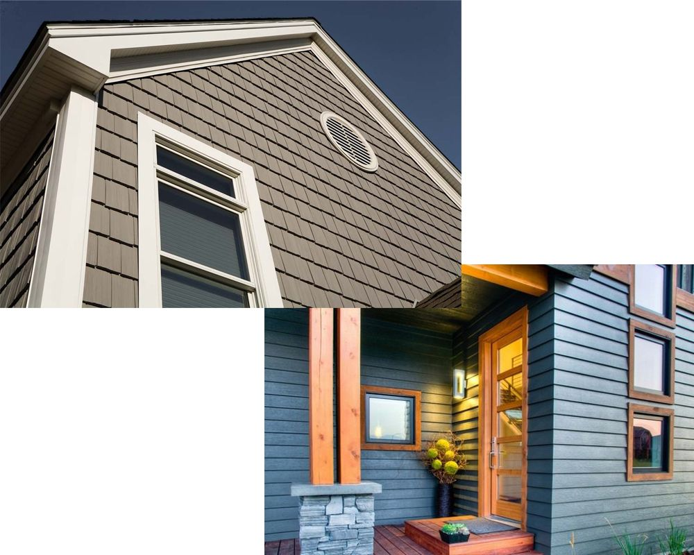 While Making Your Choice You Need To Consider Looks Efficiency Material Maintenance And Cost Exterior House Siding Vinyl Siding Exterior Wood Siding Panels