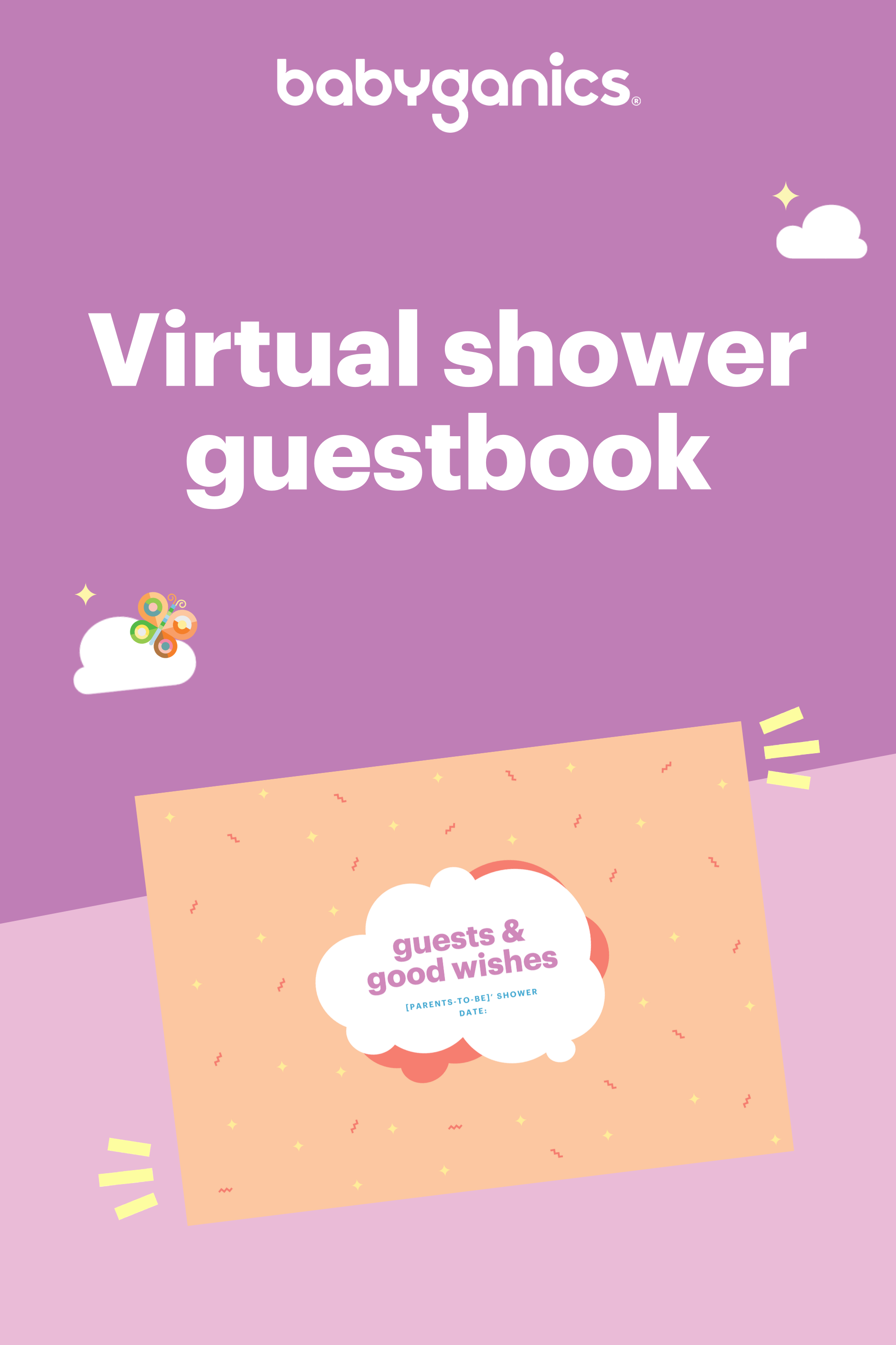 Virtual Baby Shower Guest Book Virtual Baby Shower Baby Shower Guest Book Baby Shower Guest