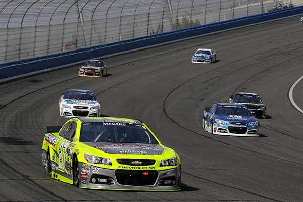 4th place finish for Menard at Fontana