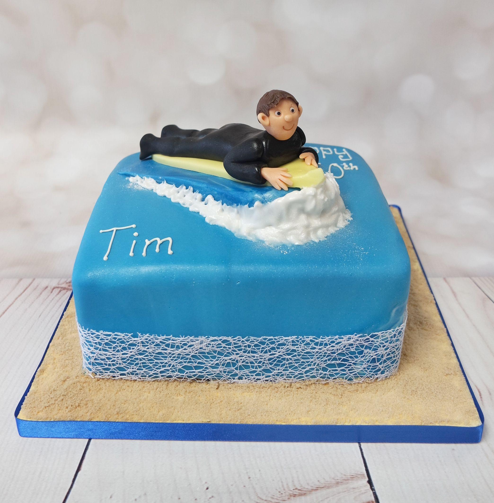 Торт серфинг фото