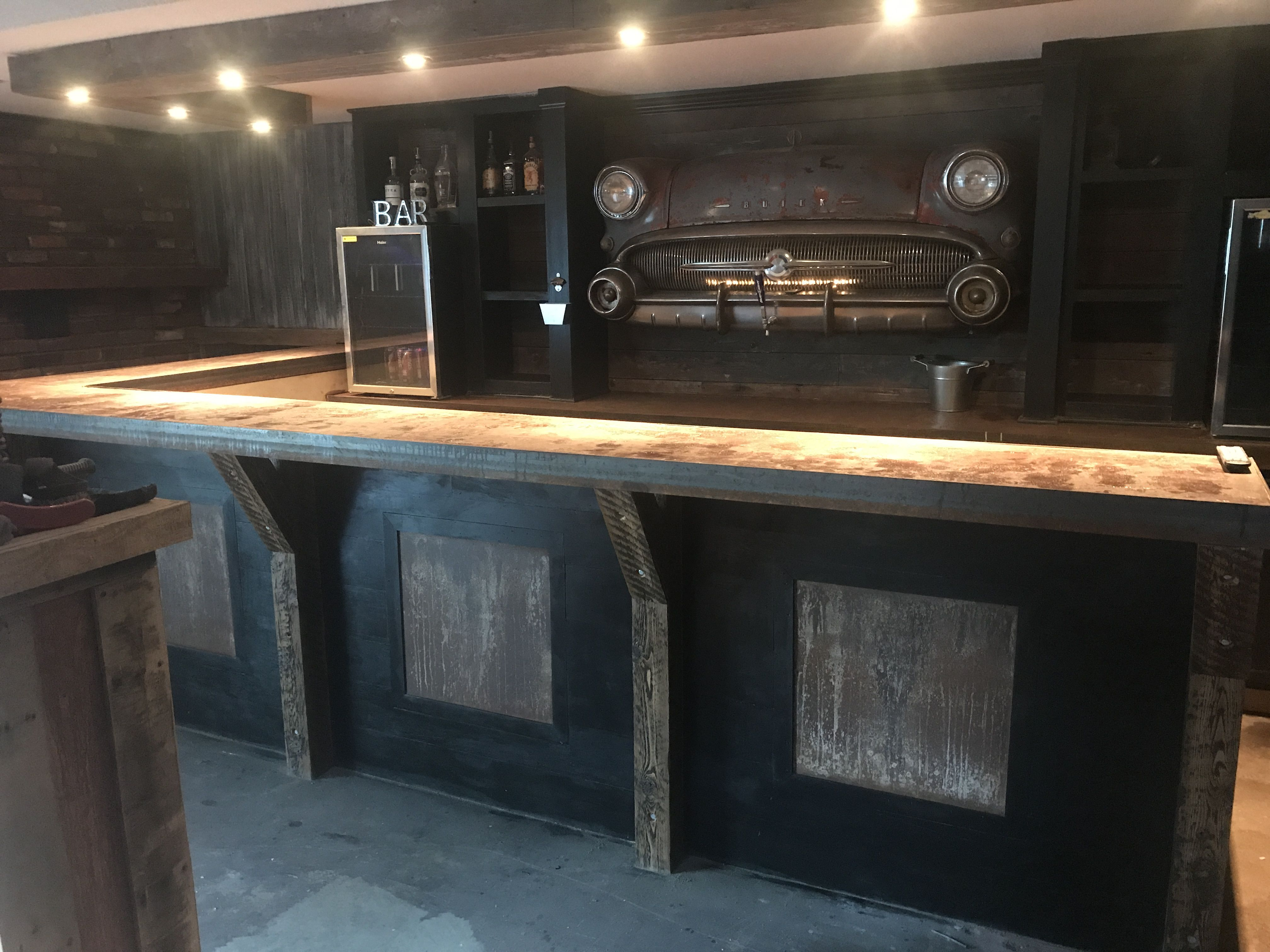 Pin by andrew lincoln on basement bar pinterest basements