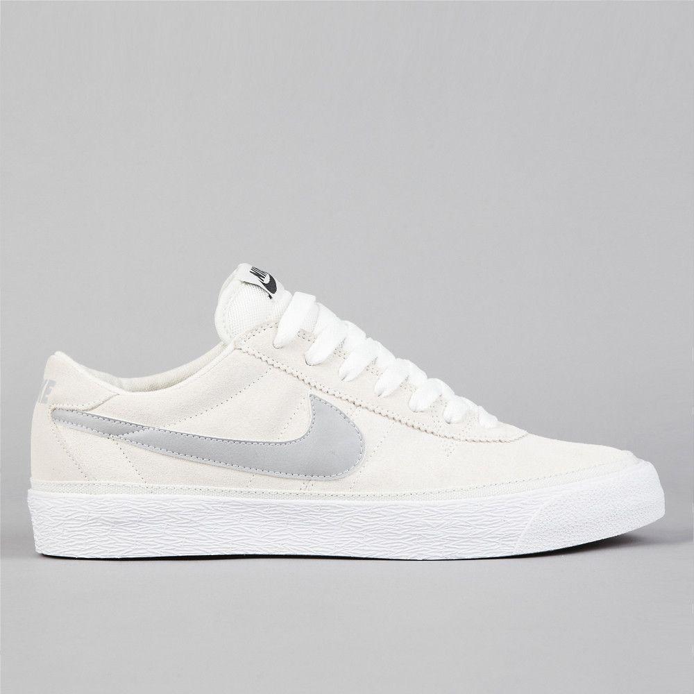 d29f0aa4ef90 gorgeous. classic. sneaker. Nike SB Bruin Swan in matte silver ...