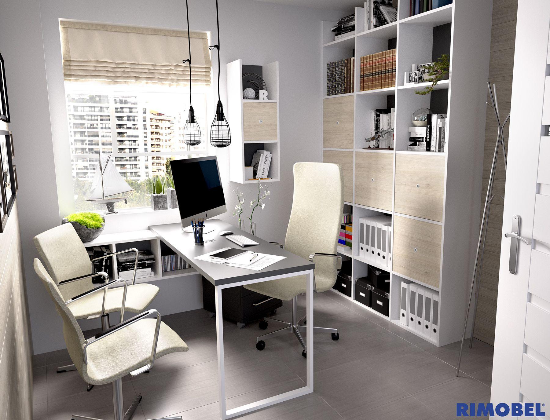 Un despacho porqu no dise a lo que te apetezca con for Disena tu habitacion