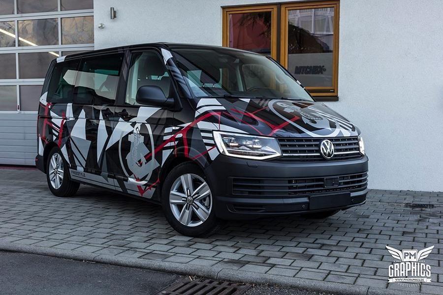 m t c h b x design folierung vw t6 bus by schwabenfolia 1. Black Bedroom Furniture Sets. Home Design Ideas