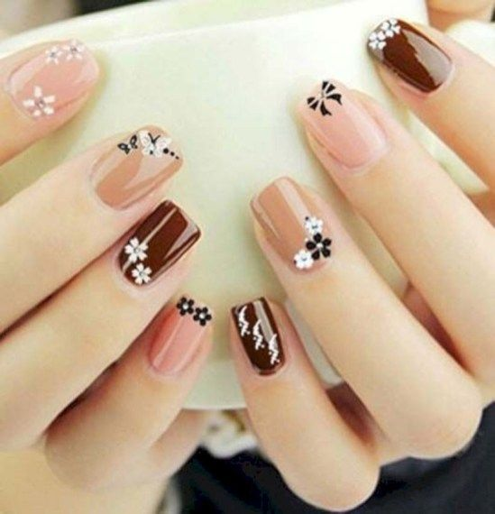 42 Top Class Bridal Nail Art Design For Winter Inspiration
