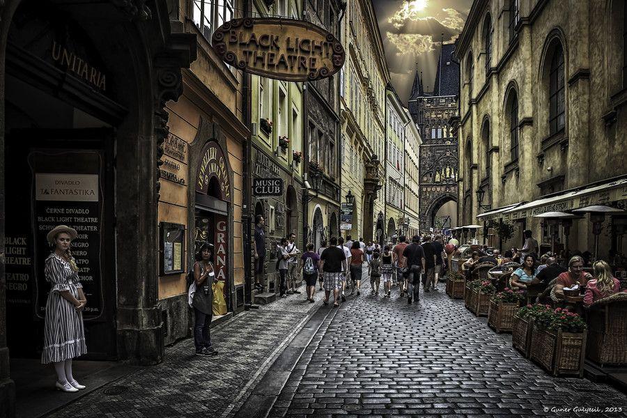 Black Light Theatre by Guner Gulyesil