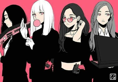 imagen de girl pink and kpop