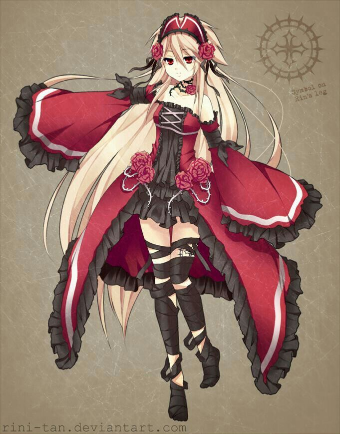 This Is Crimea She Has Beautiful Blonde Hair And Scarlet Eyes She Is A Quiet Person Who Is A Big Fan Of Anything Red Black An Anime Manga Anime Anime Chibi