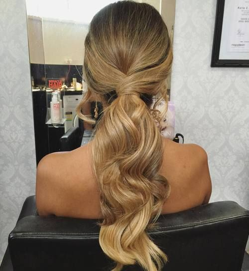 35 Super Simple Messy Ponytail Hairstyles Hair And Now Pinterest