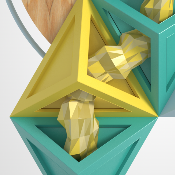 Pin On Game: Simple Physics, AO, Shadows, Polyhedra