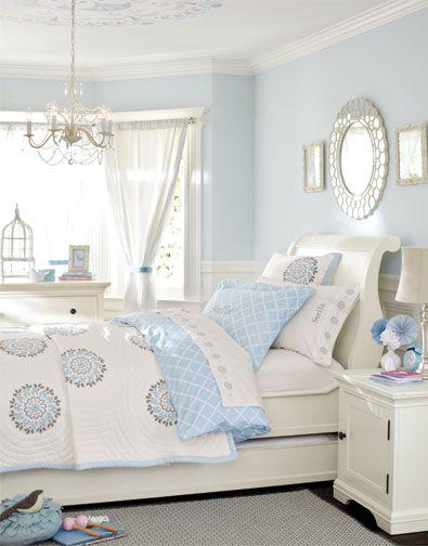 Girls Bedroom Idea 22 | Girls bedroom, Girl room, Blue bedroom on Beige Teen Bedroom  id=26191