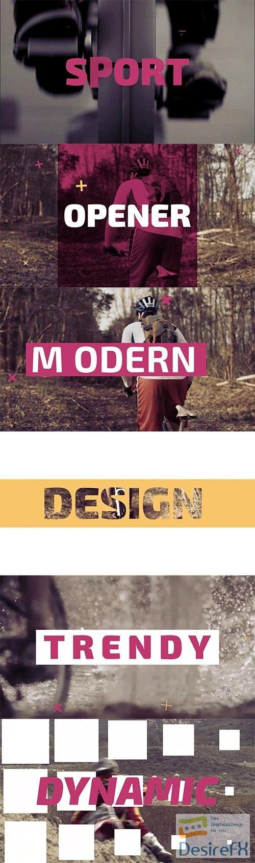 Ma Modern Dynamic Opener 87424 Modern After Effects