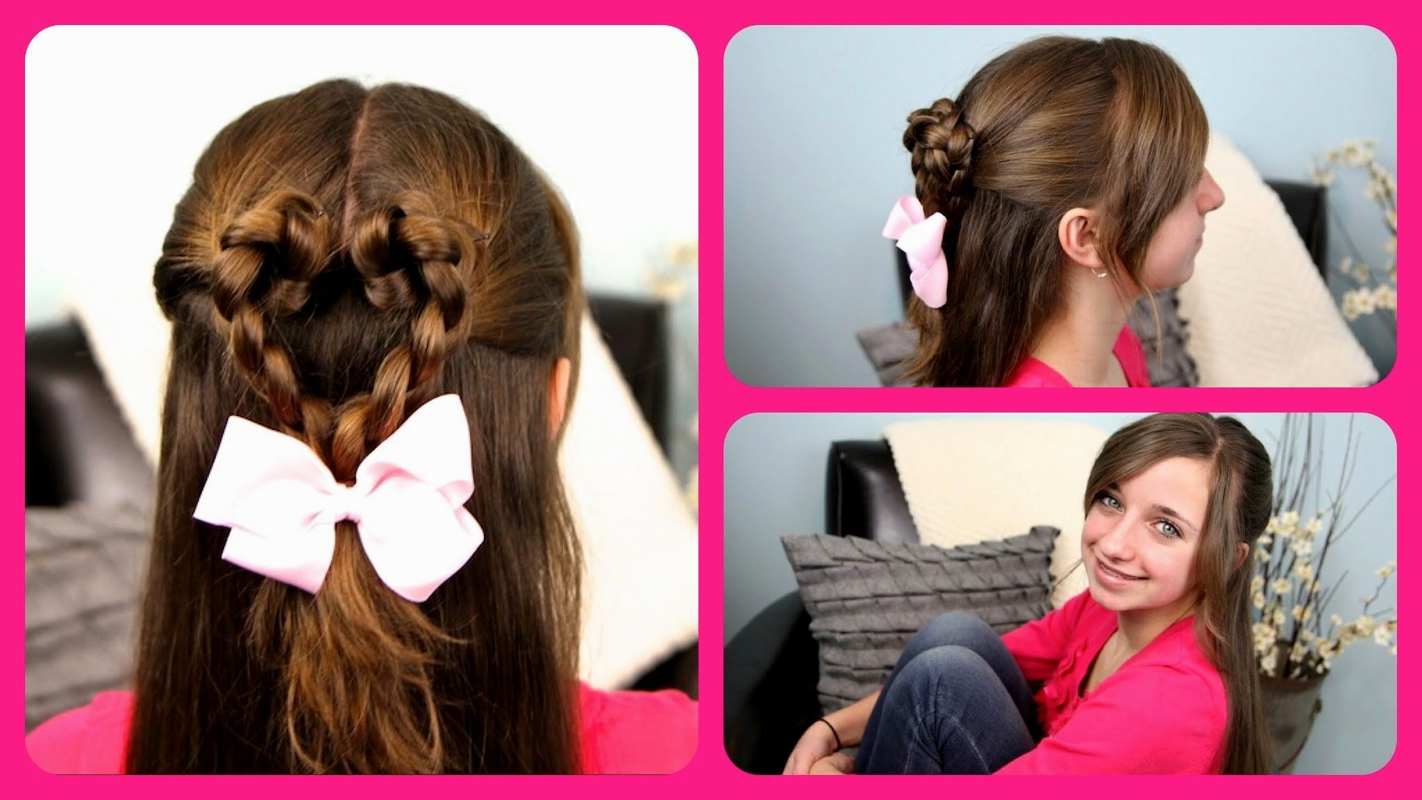 Cute Hairstyles For 9 Year Olds With Long Hair Prom Girl Hairstyles Valentines Hairstyles Hair Styles