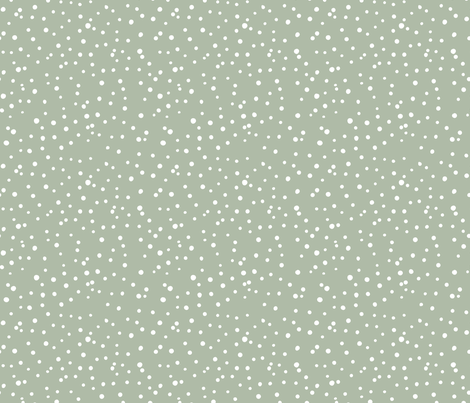 Colorful Fabrics Digitally Printed By Spoonflower Irregular Dots Let Is Snow Flakes And Spots Abstract Basic Trend Minimal Print Sage Green Sage Green Wallpaper Green Aesthetic Minimal Prints