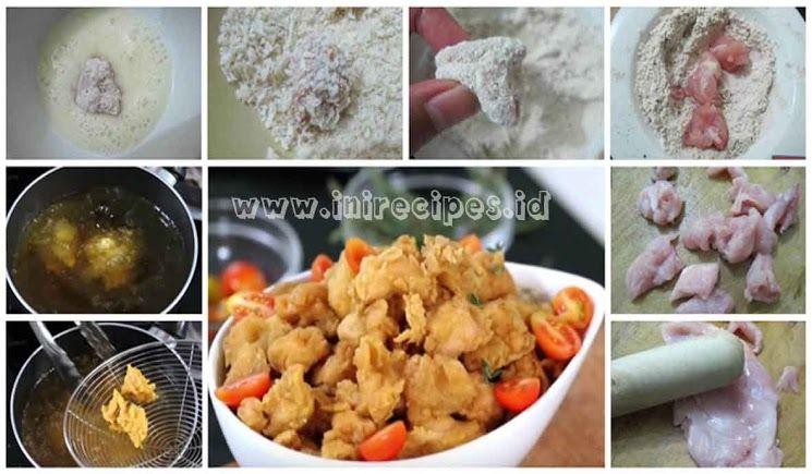 Resep Chicken Pop Corn Ala Kfc Yang Kriuk Dan Gurihhh Resep Masakan Resep Ayam Resep