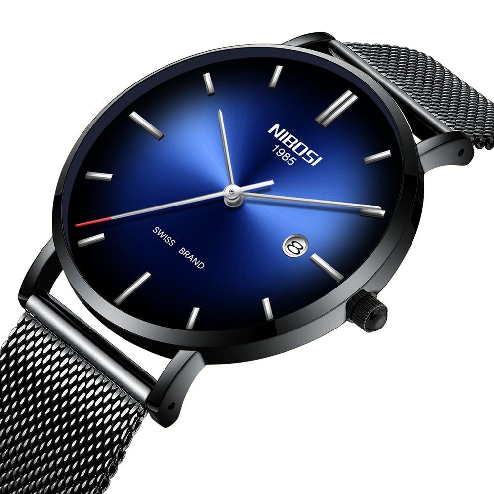 Nibosi Ultra Thin Business Men Watch 34 00 Envio Gratis Reloj