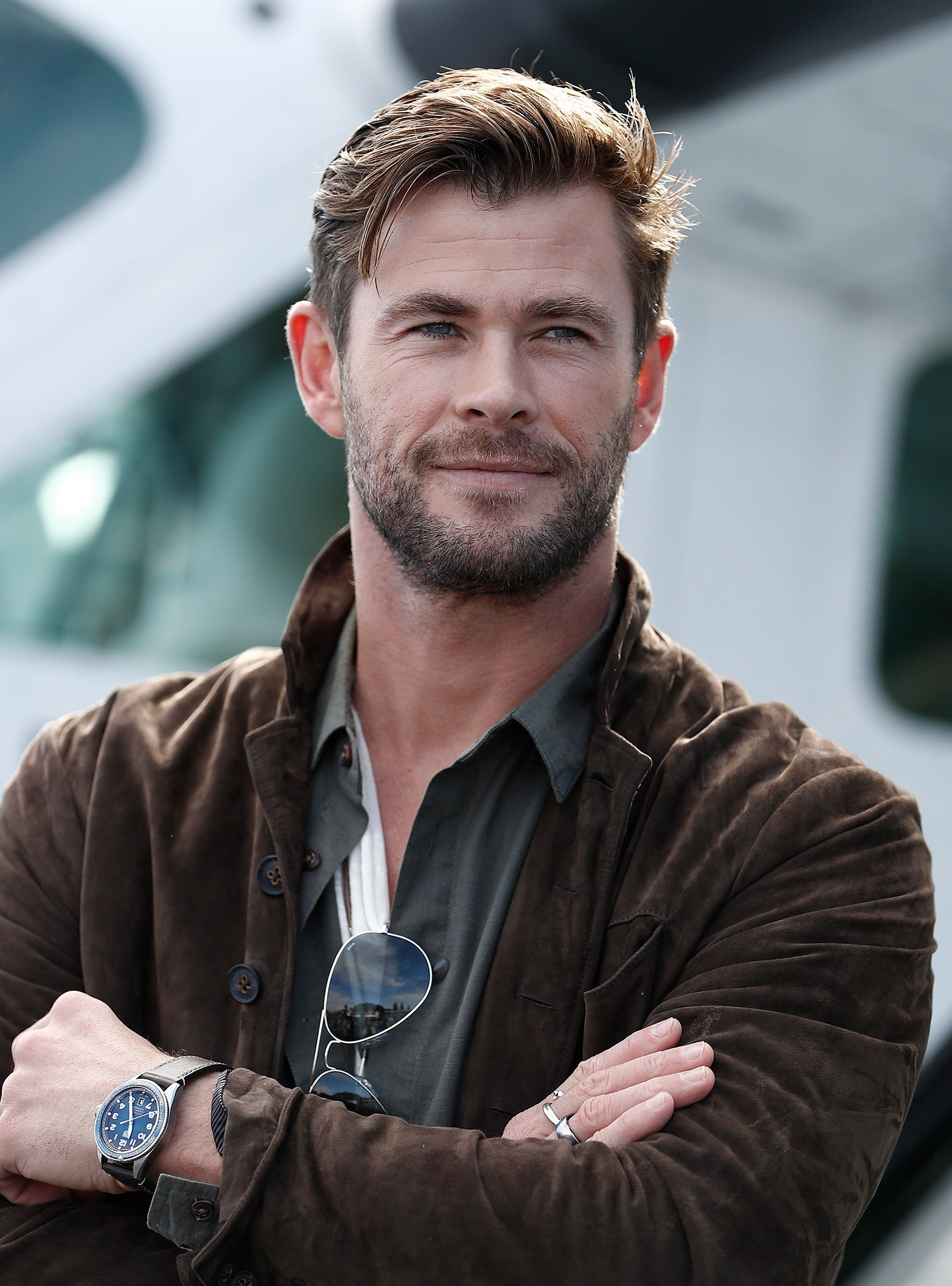 Chris Hemsworth, God Of Thirst Traps, Doesn't Know He's One, Either #hollywoodactor