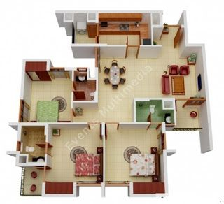 تصاميم شقق كروكي شقق سكنيه خرائط هندسية شقق مخطط هندسي شقة مخططات تصميم شقق Model House Plan House Floor Design Architectural House Plans