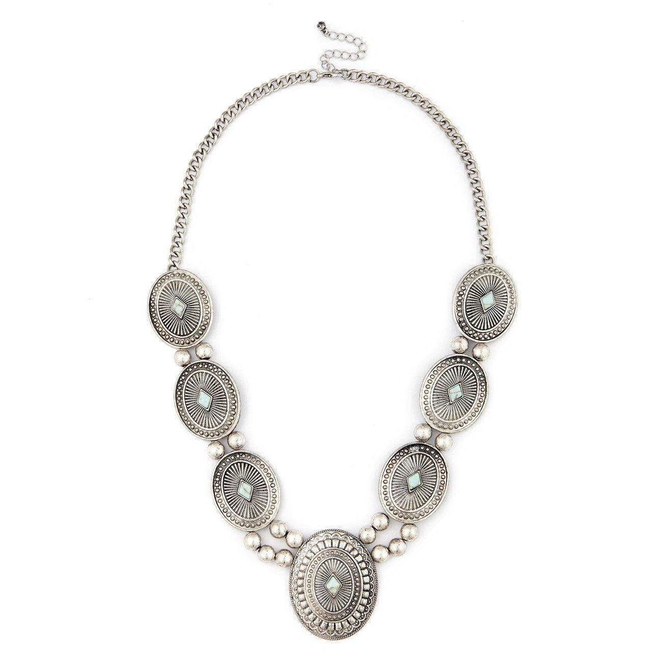 Sole Society Womens Over Statement Bib Necklace In Color: Black One Size From Sole Society tL3i6h