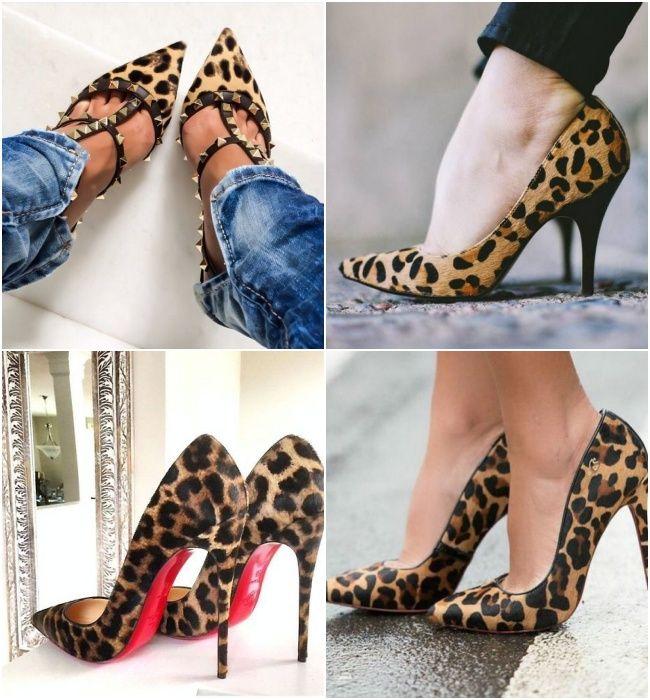 7f2f66c0a TEM QUE TER: Scarpin de Oncinha Sapatos De Oncinha, Estampas De Oncinha,  Sapatos