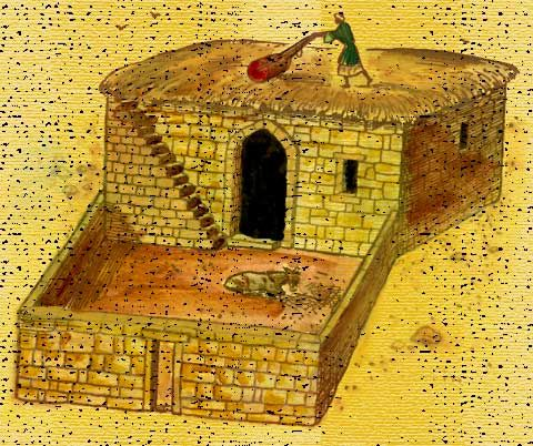 Biblical Times Ancient Israelite House Of A Commoner