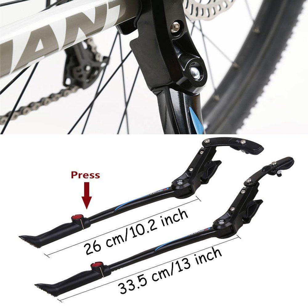 Ezyoutdoor Bike Kickstand 24 26 28 Bicycle Road Mountain Aluminum