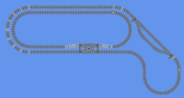 Lego Train Track Pictures To Pin Lego Train Tracks Lego Trains Model Railway Track Plans