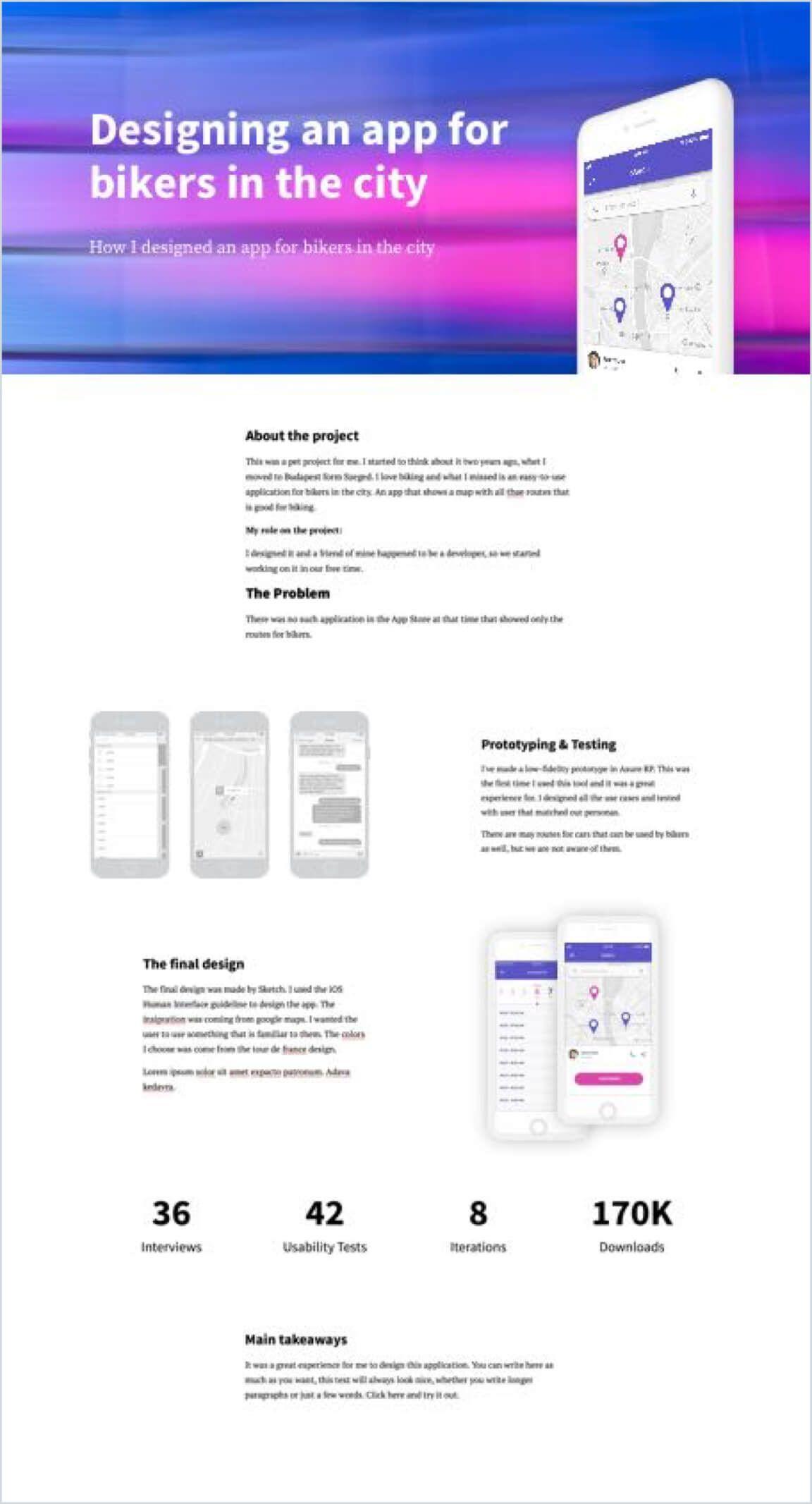 I Reviewed 573 Ux Designer Portfolios This Is I Want To See In Yours Ux Design Portfolio Portfolio Web Design Portfolio Design