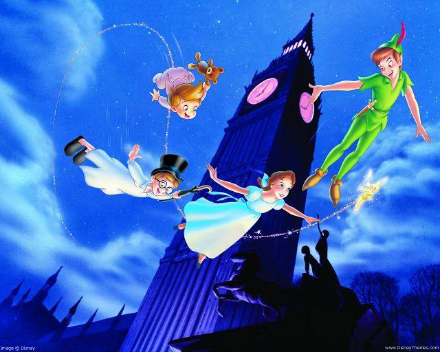 Dibujos Animados De Disney Para Colorear Peter Pan Peter: Láminas Infantiles Y Para Adolescentes