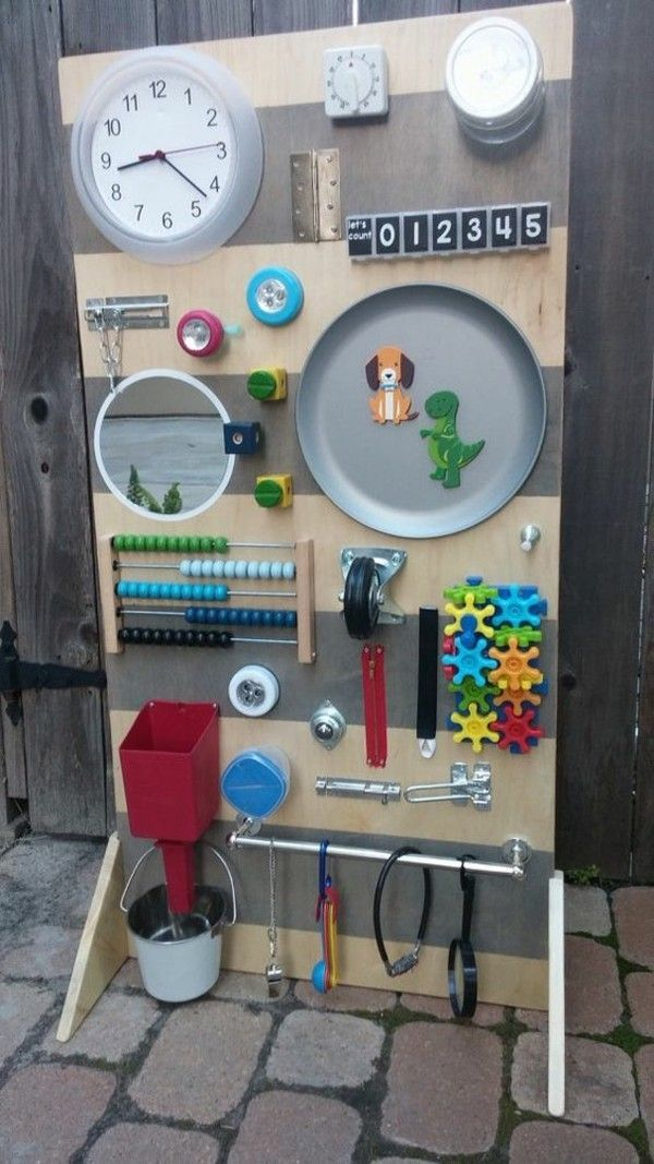 Coole Kinderspielzeuge selber machen - Schüttelflaschen, Activity Boards und einfache Stoffti...