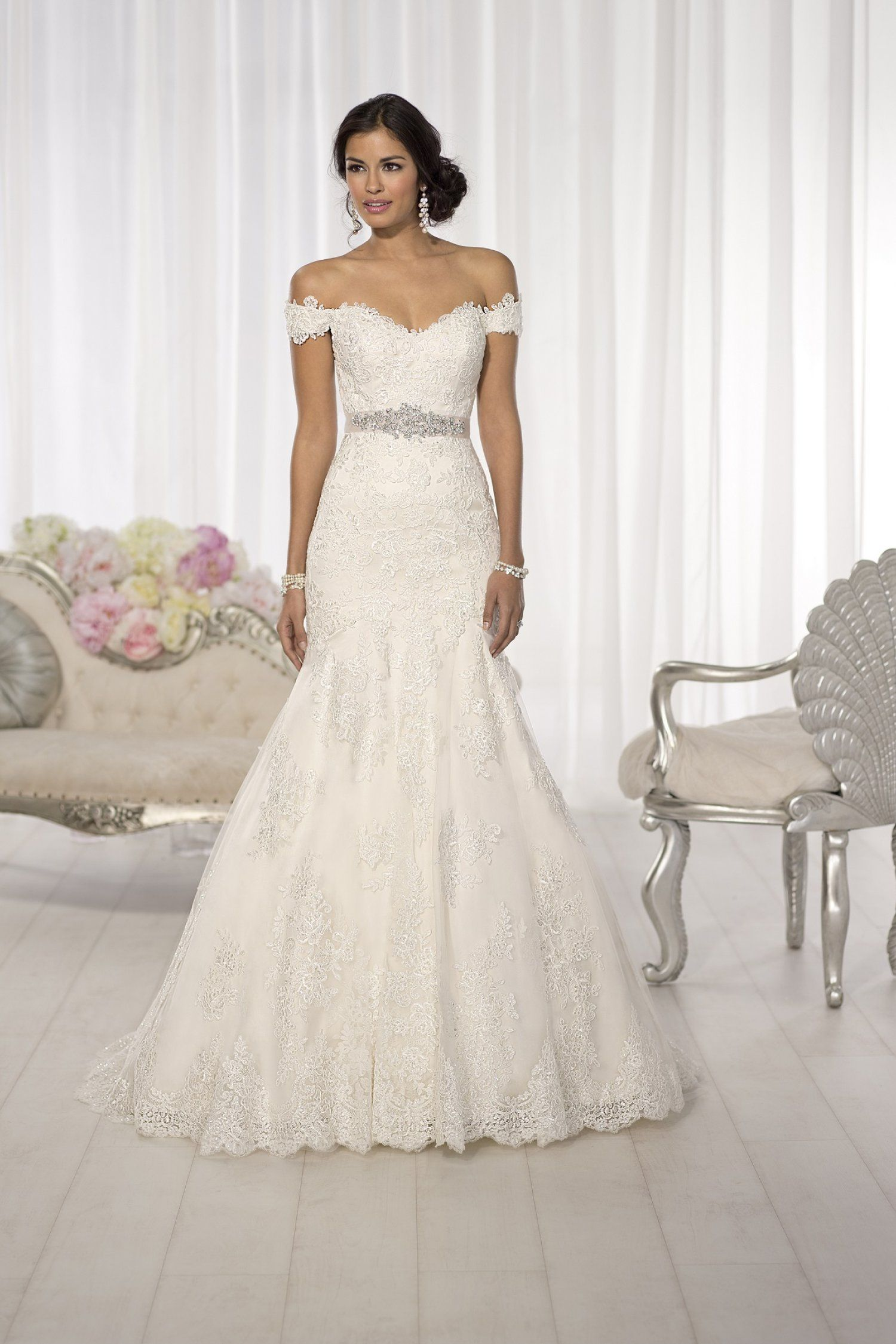 Essense of australia d size wedding dress pinterest